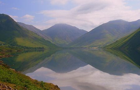 The Lake District: Wast Water Reflections