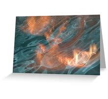 Fire & Water Greeting Card