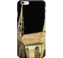 cathedral under black sky iPhone Case/Skin