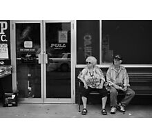 Watch a Parade Every Now and Then Photographic Print