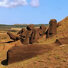 Moai Quarry, Easter Island by Martyn Baker | Martyn Baker Photography