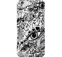Rectangle Aussie Tangle 1  iPhone Case/Skin