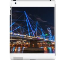 Kurilpa Bridge from Below iPad Case/Skin