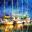 In The Port — Buy Now Link - www.etsy.com/listing/227861517 by Leonid  Afremov