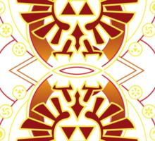 Card Back 3 - Hylian Court Legend of Zelda Sticker