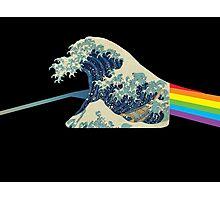Wave refraction Photographic Print