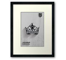Los Angeles Kings Minimalist Print Framed Print