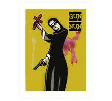 GUN NUN COVER Art Print