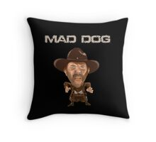 Buford Mad Dog Tannen 1885 Back To The Future Throw Pillow