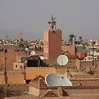 Marrakech Roofscape by CCManders