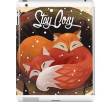 Stay Cozy iPad Case/Skin