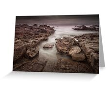 Porthcawl Rest Bay south Wales Greeting Card
