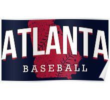 Atlanta Pride - Baseball 2 Poster