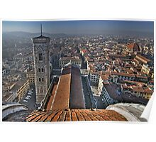 Florence Cathedral - Cathedral Square Poster