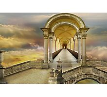 Soaring in heavens Photographic Print