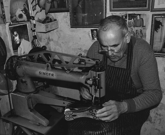 The Shoe Maker by RayFarrugia