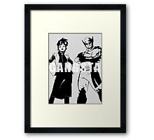 GANGSTA X-MEN (JUBILEE & WOLVERINE) Threshold  Framed Print