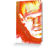 Frankenstein, What Eternity Is Greeting Card