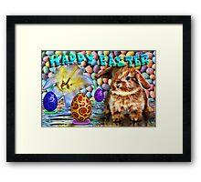 Happy Easter 2015 Framed Print