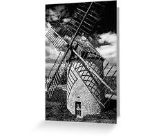 Windmill Castelnau Greeting Card