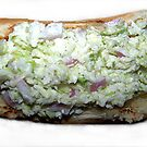 Chili Dogs With Creamy Coleslaw by Glenna Walker