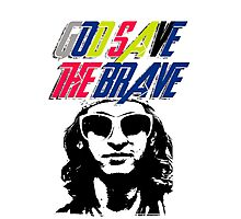 God Save The Brave Photographic Print