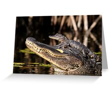 Don't come any closer! Greeting Card