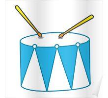 Blue Drum Poster