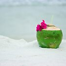 Coconut juice by Dmitry Rostovtsev