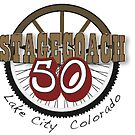 Stagecoach 50 Mile Bike race logo by aphcreative