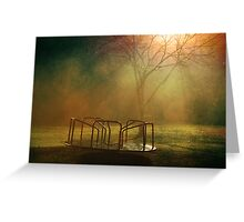 Midnight Merry-Go-Round  Greeting Card
