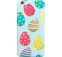 Easter Eggs Pattern iPhone Case/Skin