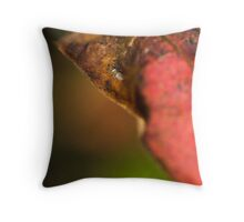an insects world Throw Pillow