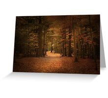 The guiding light Greeting Card