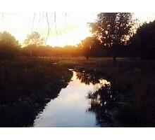 Sunset in Michigan  Photographic Print