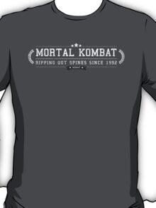 Mortal Kombat - Retro White Dirty T-Shirt
