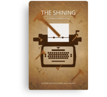 Stanley Kubrick's 'The Shining' - Poster Print Canvas Print
