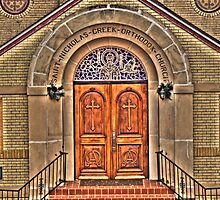 Church Door by Scott  Remmers