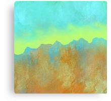 Behind the Cliffs Canvas Print