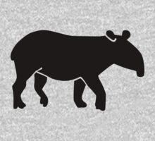 Black tapir Kids Clothes