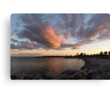 Cloud and Cove Canvas Print