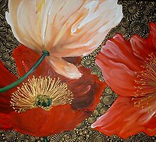 Three Poppies II by Cherie Roe Dirksen