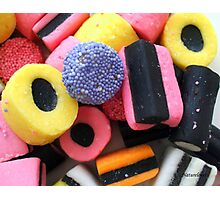 Liquorice Allsorts - You May Take One! Photographic Print