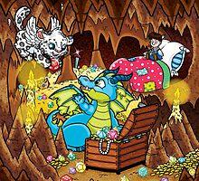 Wee Beasties - Wee Dragon by whimsyworks