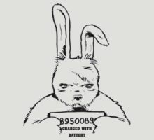 Bunny charged with battery T-Shirt