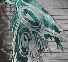 green crow by arteology
