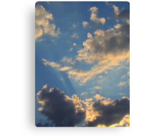 Sunset Clouds 2 Canvas Print