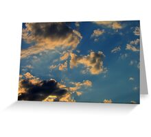 Sunset Clouds 3 Greeting Card