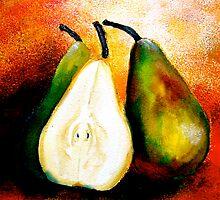 Pears... Heat by © Janis Zroback