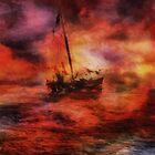 Purple Sunset by Stefano Popovski